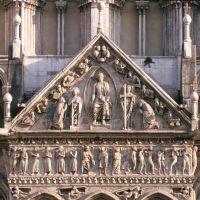 """Cattedrale. Particolare del """"Giudizio universale"""" - samaritani - Ferrara (FE)"""
