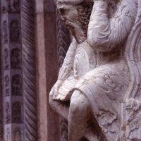 cattedrale, particolare del talamone - zappaterra - Ferrara (FE)