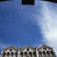 cuspidi della cattedrale viste dal volto del cavallo - zappaterra - Ferrara (FE)