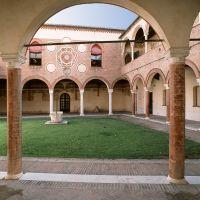 Casa Romei. Cortile interno - Baraldi - Ferrara (FE)