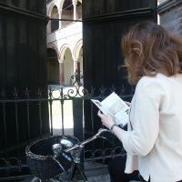 Casa Romei, Turista in bicicletta - Massimo Baraldi - Ferrara (FE)