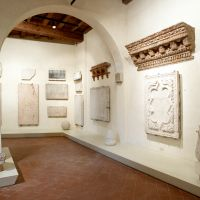 Casa Romei. lapidario - baraldi - Ferrara (FE)