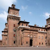 Castello Estense. Esterno - Baraldi - Ferrara (FE)
