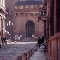 Castello Estense visto da c.so Ercole I d'Este - Baraldi - Ferrara (FE)