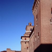 Castello Estense. Visione scorciata - Baraldi - Ferrara (FE)