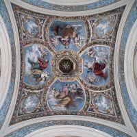 Castello Estense. Cappella ducale, affresco del soffitto - Baraldi - Ferrara (FE)
