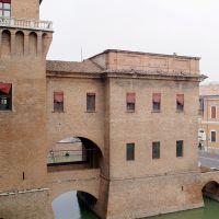 Castello Estense. Rivellino nord - Baraldi - Ferrara (FE)