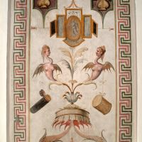 Castello Estense. Grottesca - Baraldi - Ferrara (FE)