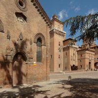 Chiesa di San Giuliano e Castello Estense - Baraldi - Ferrara (FE)
