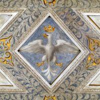 Castello Estense. Salone dei Giochi, particolare dell'aquila estense - baraldi - Ferrara (FE)