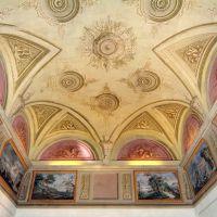 Castello Estense. Sala dei Paesaggi, soffitto - baraldi - Ferrara (FE)