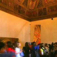 Castello Estense. Saletta dei Giochi con scolaresca - zappaterra - Ferrara (FE)