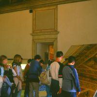 Castello Estense. Sala dell'Aurora con scolaresca - zappaterra - Ferrara (FE)