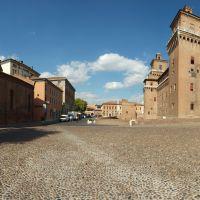 Piazza Castello, Chiesa di San Giuliano, Castello Estense - Massimo Baraldi - Ferrara (FE)
