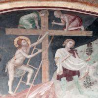 """Monastero di Sant'Antonio in Polesine - particolare affresco sala interna """"Cristo sale sulla coce"""" - Massimo Baraldi - Ferrara (FE)"""