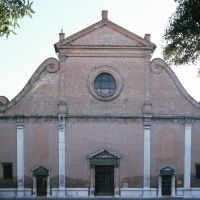 Chiesa di San Francesco. Facciata - samaritani - Ferrara (FE)