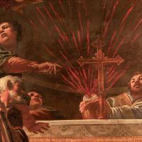 """Chiesa di Santa Maria in Vado. Affresco """"Il miracolo dell'ostia"""" - Samaritani - Ferrara (FE)"""