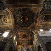 santuario di santa maria in vado, il soffitto - zappaterra - Ferrara (FE)