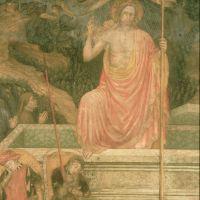 Oratorio dell'Annunziata. particolare dell'affresco - samaritani - Ferrara (FE)