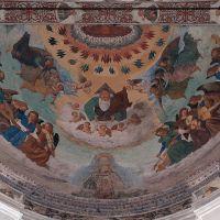 Chiesa di Santa Maria della Consolazione. particolare affresco - Baraldi - Ferrara (FE)