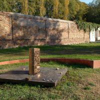 Cimitero ebraico. Tomba di Giorgio Bassani - Baraldi - Ferrara (FE)