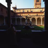 chiostro della chiesa di San Giorgio - rebeschini - Ferrara (FE)