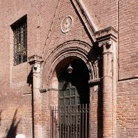 Convento Corpus Domini. Portale - Baraldi - Ferrara (FE)