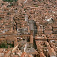 veduta aerea della città - Baraldi - Ferrara (FE)