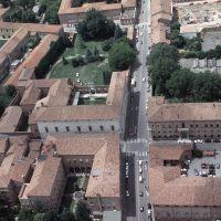 Quadrivio dell'Addizione Erculea. Veduta aerea - Baraldi - Ferrara (FE)
