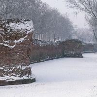 le Mura con la neve - Baraldi - Ferrara (FE)