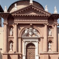 Chiesa di San Carlo. Facciata - Baraldi - Ferrara (FE)
