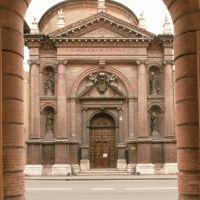 Chiesa di San Carlo. Facciata - Samaritani - Ferrara (FE)