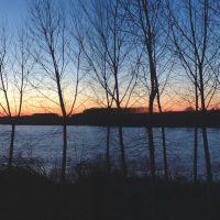 tramonto sul Po - corbelli - Ferrara (FE)