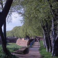 le mura cinquecentesche, percorso pedonale - zappaterra - Ferrara (FE)