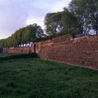 le mura cinquecentesche con porta San Pietro - zappaterra - Ferrara (FE)