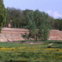 le mura, percorso ciclopedonale - zappaterra - Ferrara (FE)