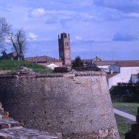 le mura cinquecentesche, baluardo - zappaterra - Ferrara (FE)