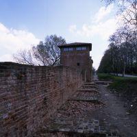 scorcio delle mura dall'interno - rebeschini - Ferrara (FE)