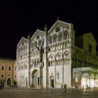 piazza della Cattedrale, notturna - Massimo Baraldi - Ferrara (FE)
