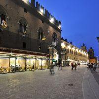 piazza della Cattedrale di sera - Massimo Baraldi - Ferrara (FE)