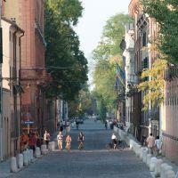 Corso Ercole I d'Este con biciclette - Massimo Baraldi - Ferrara (FE)