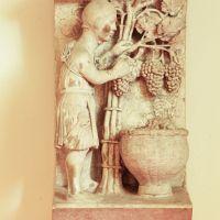 Museo della Cattedrale. Formella di Settembre - Samaritani - Ferrara (FE)
