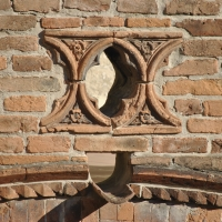 Elemento decorativo cortile casa Romei Ferrara - Nicola Quirico - Ferrara (FE)