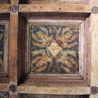 Particolare soffitto a cassettoni - Manuela Mattana - Ferrara (FE)