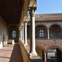 Loggiato piano nobile casa Romei Ferrara - Nicola Quirico - Ferrara (FE)