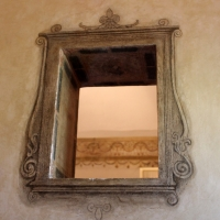 Particolare foratura parete interna - Manuela Mattana - Ferrara (FE)
