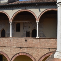 Loggia Superiore casa Romei Ferrara 03 - Nicola Quirico - Ferrara (FE)