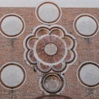 Monogramma san Bernardino casa Romei Ferrara - Nicola Quirico - Ferrara (FE)