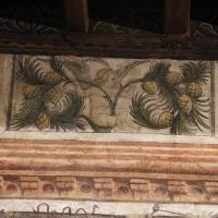 Casa romei, sala delle sibille, 1450 ca. 15 putto con pigne - Sailko - Ferrara (FE)