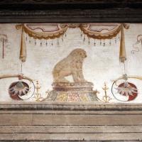 Casa romei, sala della scimmia, 01 orso - Sailko - Ferrara (FE)